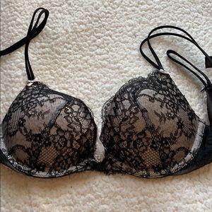 Victoria's Secret Push-Up Bra with Lace 32B